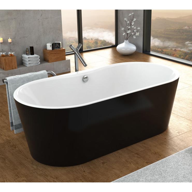 Акриловая ванна Kolpa san Comodo FS 185x90 black basis акриловая ванна kolpa san tamia quat 170x70