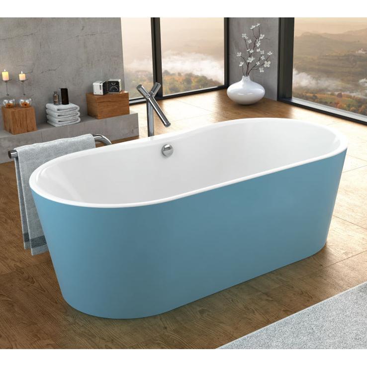 Акриловая ванна Kolpa san Comodo FS 185x90 blue basis цена 2017