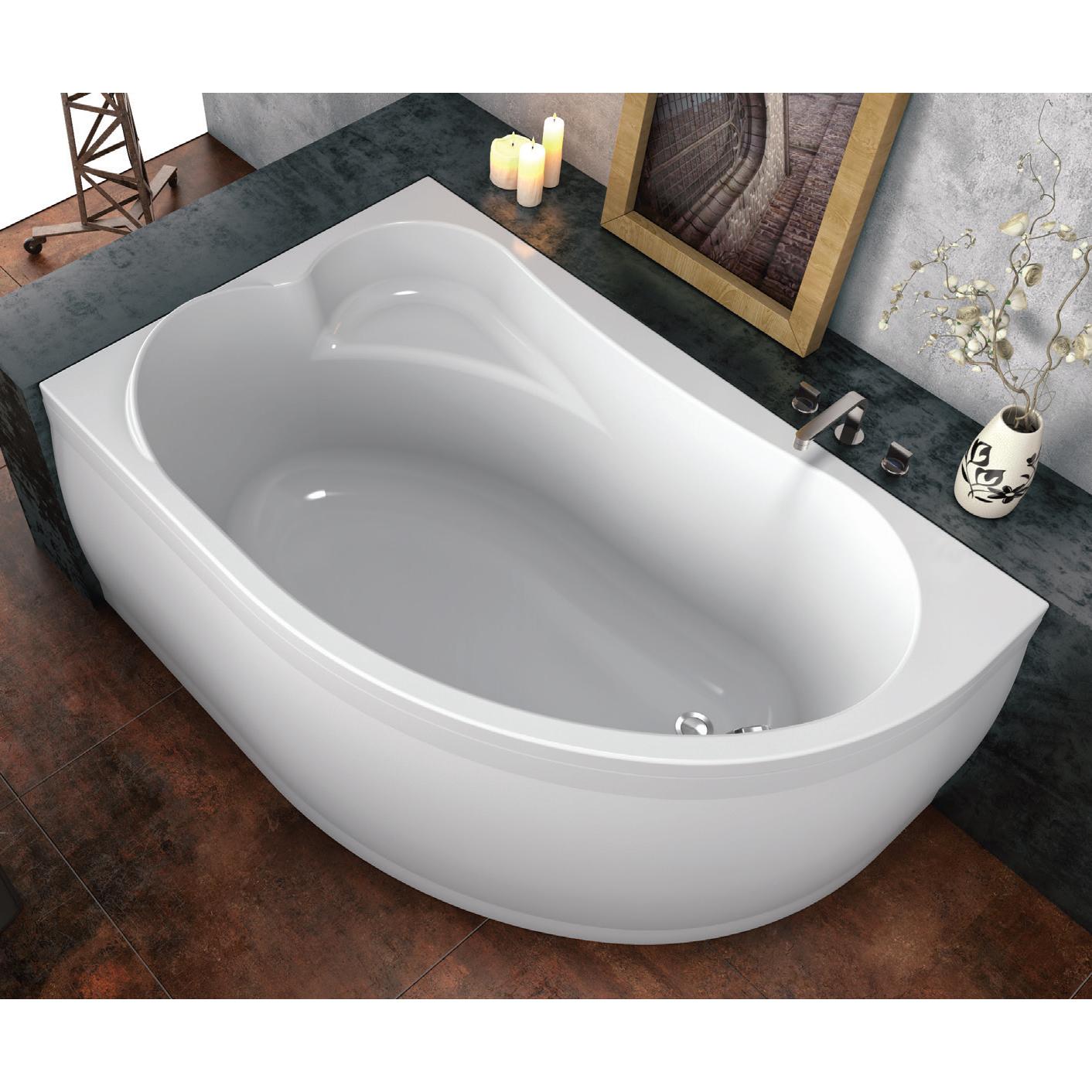 Акриловая ванна kolpa Voice Basis R акриловая ванна kolpa rapido rapido basis 180 180x80