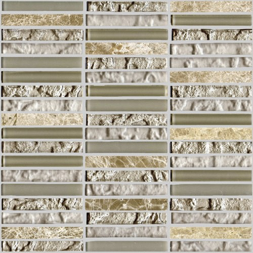 цена Настенная плитка L'antic Colonial Mosaics Collection +19813 L242521841 Tecno Linear Cream Capuccino