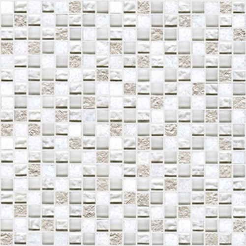 Настенная плитка L'antic Colonial Mosaics Collection +19812 L242521601 Imperia Mix Silver White