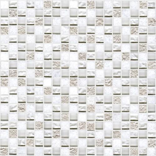 Настенная плитка L'antic Colonial Mosaics Collection +19812 L242521601 Imperia Mix Silver White l antic colonial imperia bhutan bronze 30x30x0 8