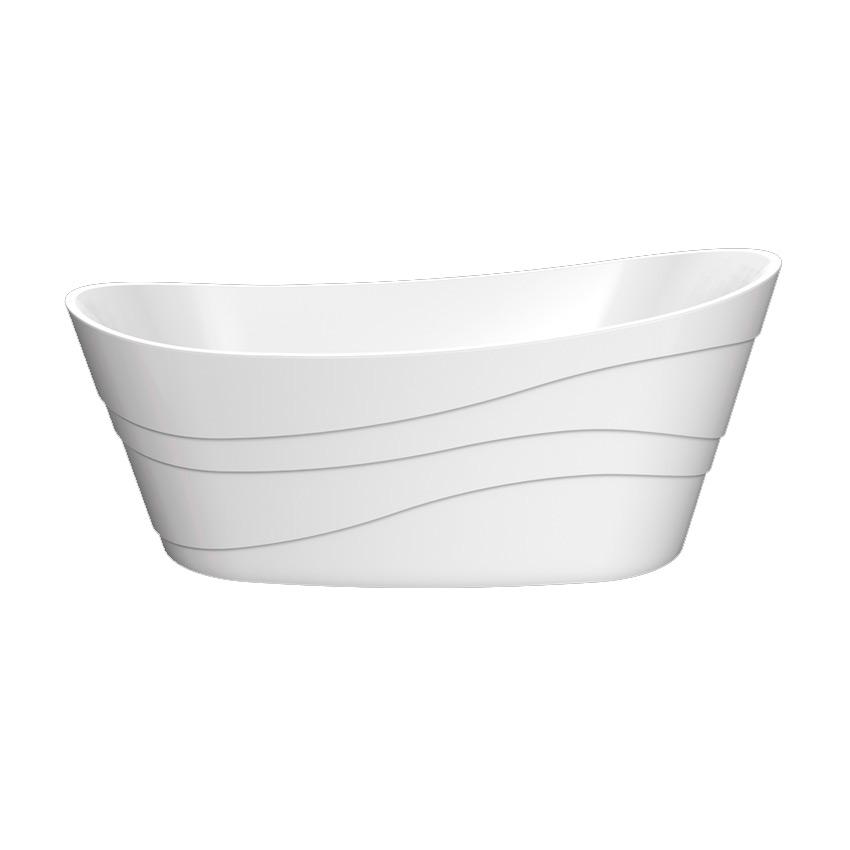 Акриловая ванна Lagard Alya White Star акриловая ванна belbagno 170x76x70 см свободностоящая bb25