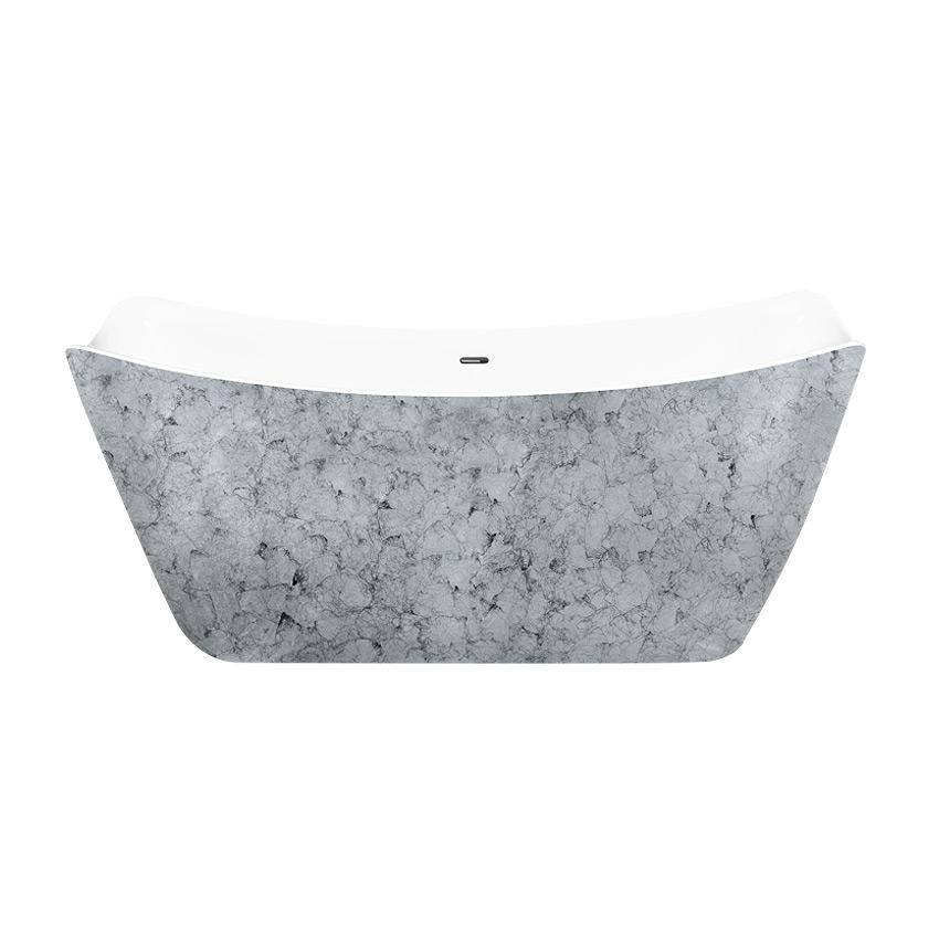 Акриловая ванна Lagard Meda Treasure Silver акриловая ванна belbagno 170x76x70 см свободностоящая bb25