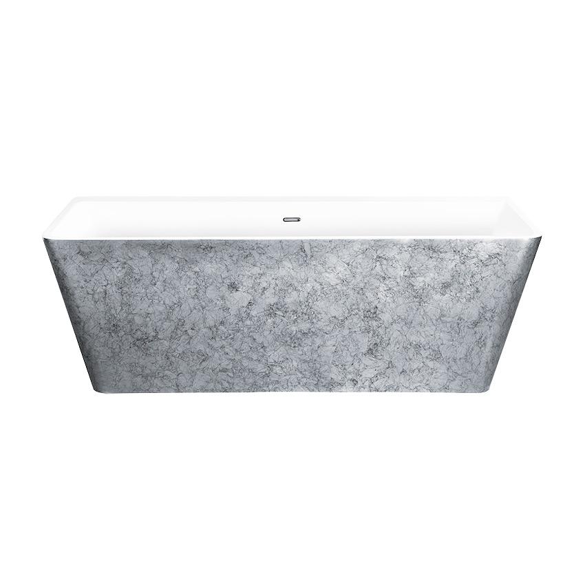Акриловая ванна Lagard Vela Treasure Silver