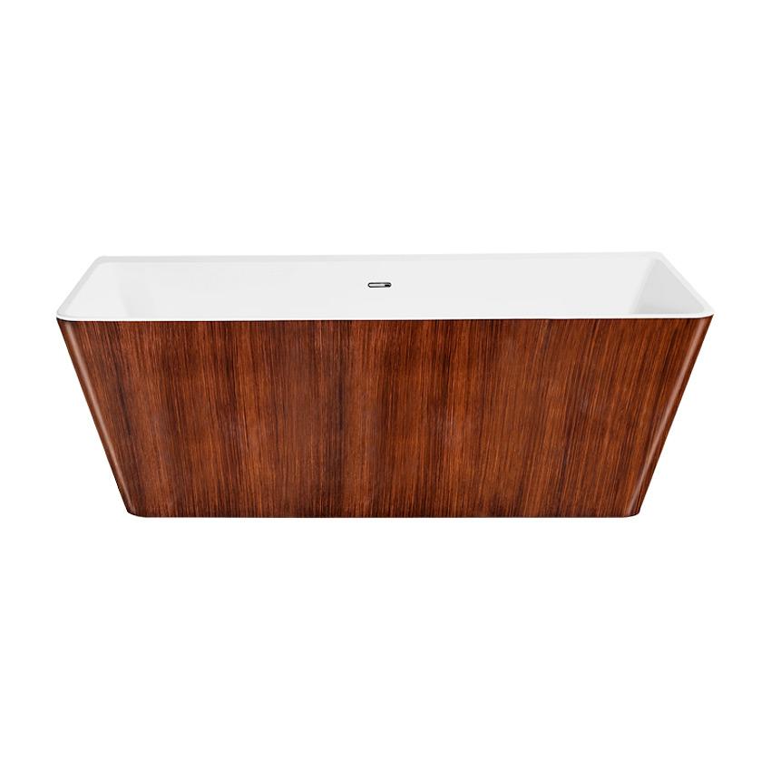Акриловая ванна Lagard Vela Brown wood