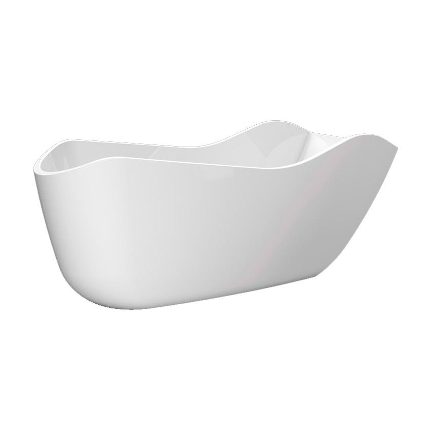 Акриловая ванна Lagard Teona White Star акриловая ванна belbagno 180x86x59 см свободностоящая bb13 1800
