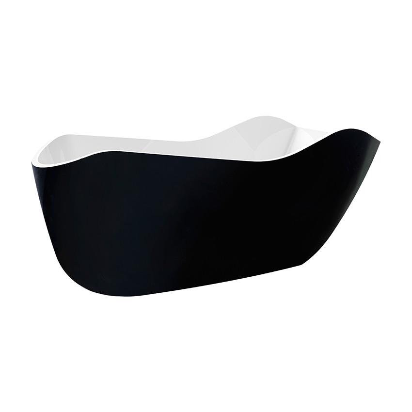 Акриловая ванна Lagard Teona Black Agate