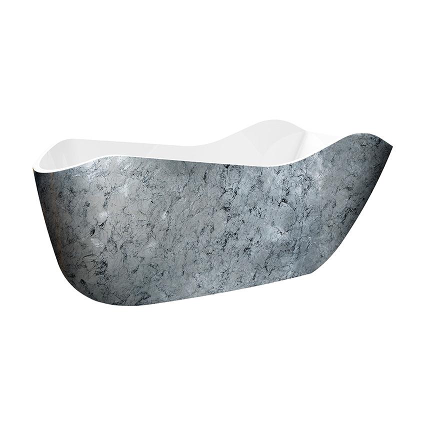 Акриловая ванна Lagard Teona Treasure Silver