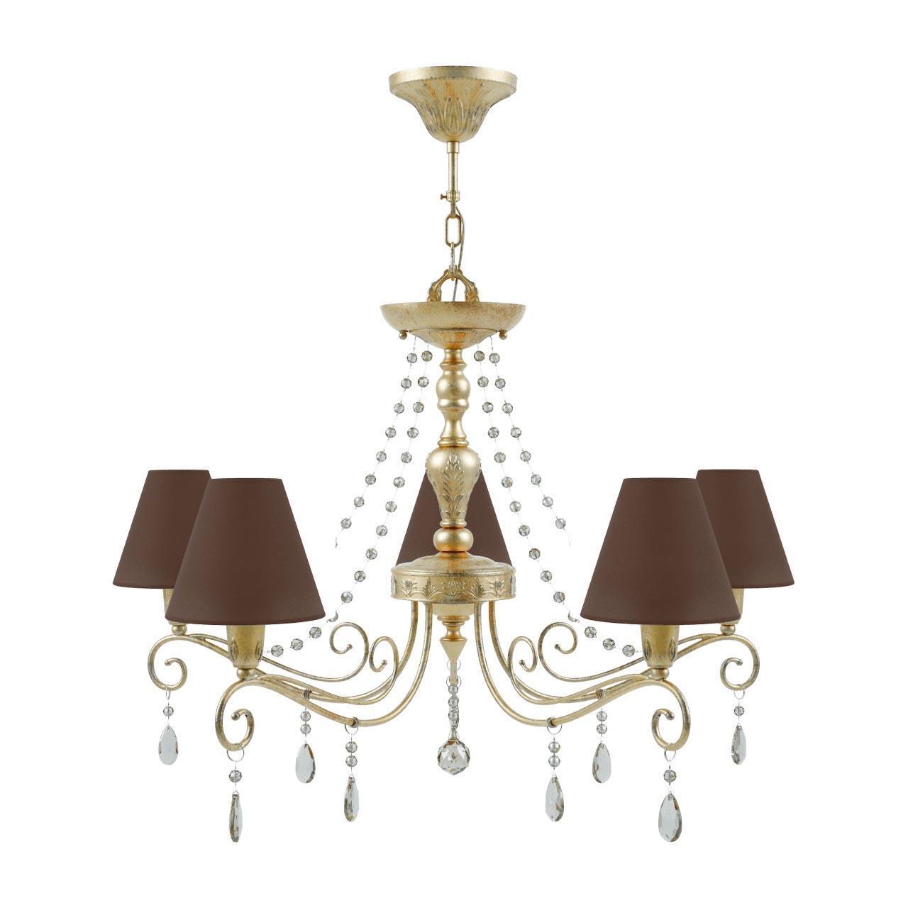 Люстра Lamp4you Provence E4-05-H-LMP-O-30-CRL-E4-05-CH-UP подвесная настенное бра lamp4you provence e 01 wm lmp o 29