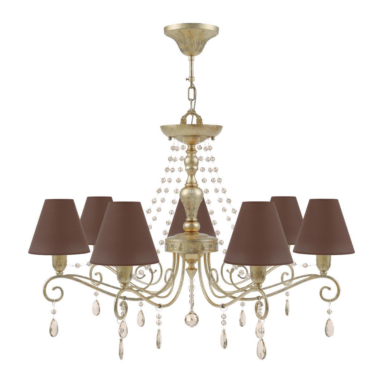 Люстра Lamp4you Provence E4-07-H-LMP-O-30-CRL-E4-07-CH-UP подвесная настенное бра lamp4you provence e 01 wm lmp o 29