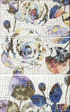 Панно Latina Mosaico Rosas-2 75х50 2 панно akimi