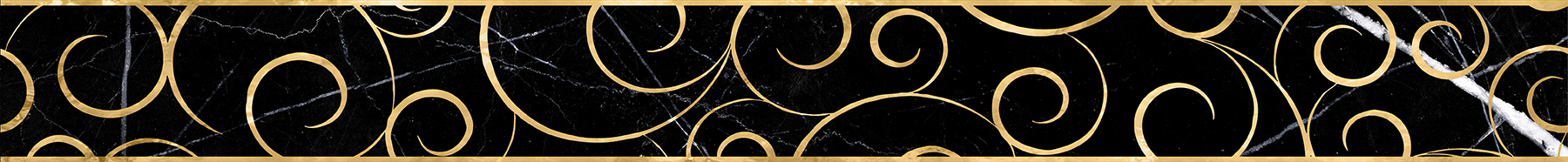 Миланезе дизайн Бордюр Флорал неро 1506-0160 6х60 бордюр настенный 6х60 3 миланезе дизайн флорал крема