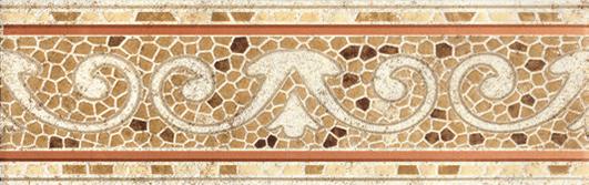 Тенерифе Бордюр напольный 3604-0103 14х45 бордюр напольный 14х45 boreal beige cenefa epoca 3 вида бежевый