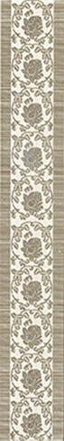 Белла Бордюр серый 1503-0041 6х39,8 бордюр lb ceramics белла серый 6x19 8