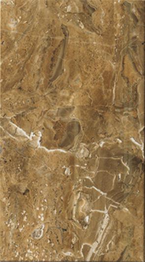 Кендо Плитка настенная коричневая 1045-0080 25х45