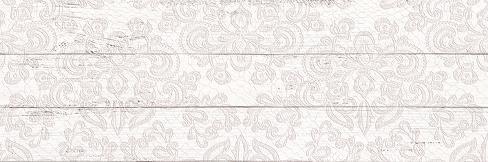 цена на Шебби Шик Плитка настенная декор белый 1064-0027 / 1064-0097 20х60