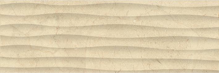 Миланезе дизайн Плитка настенная крема волна 1064-0160 20х60 цены