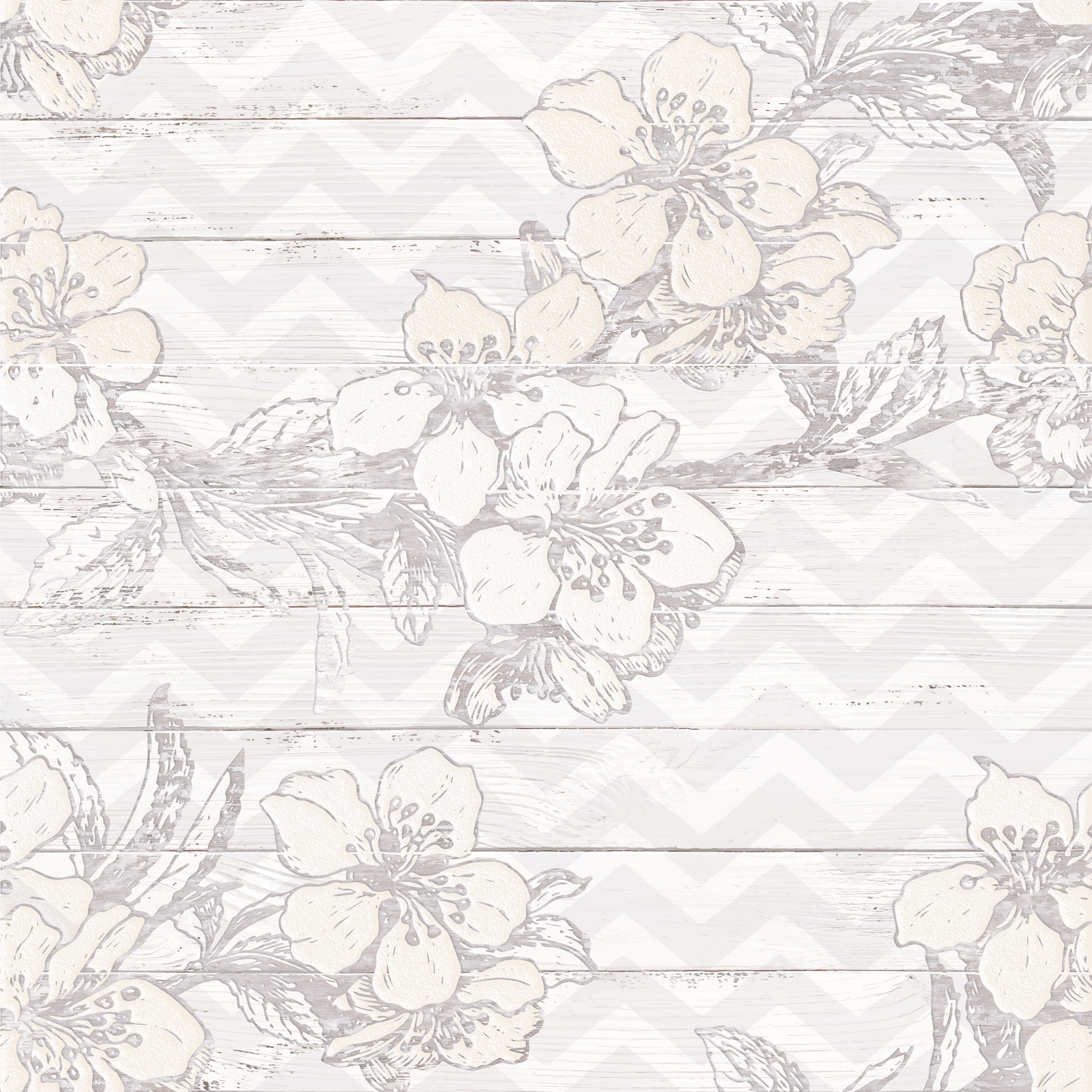 Шебби Шик Панно серый 1606-0007 60х60 (компл. из 3-х шт) цена