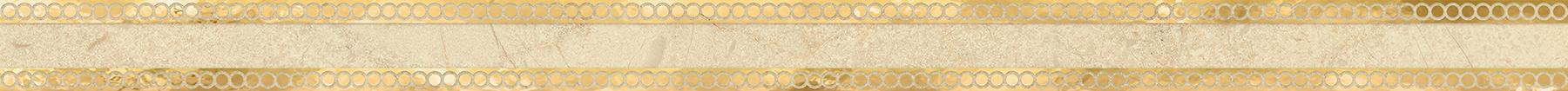 Миланезе дизайн Бордюр Римский крема 1506-0157 3,6х60 бордюр настенный 6х60 3 миланезе дизайн флорал крема