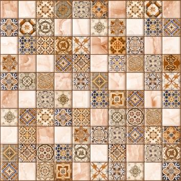 Орнелла арт-мозаика коричневая 5032-0199 30х30 lb ceramics орнелла 5032 0199 30x30