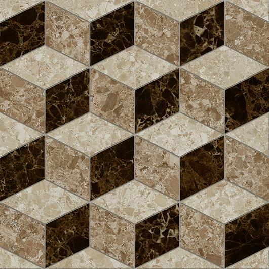 цена на Скольера Керамогранит коричневый геометрия 6046-0350 45х45