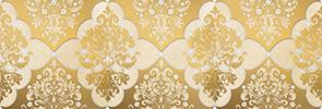 Магриб Бордюр настенный золотой 1508-0006 8,5х25 бордюр настенный 40х3 вилланелла белый