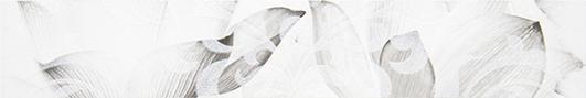 Каррарский Мрамор Бордюр цветы 1504-0145 7,5х45 бордюр lb ceramics фьюжн 1504 0077 9x40