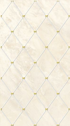 Оникс декор бежевый 1645-0036 25х45