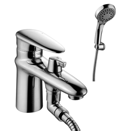 Смеситель Lemark Status LM4415C для ванны смеситель для ванны коллекция status lm4414c однорычажный хром lemark лемарк