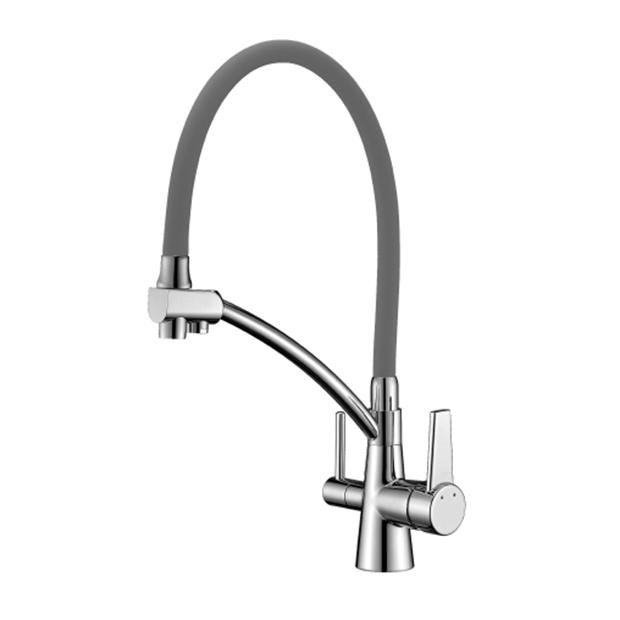 Смеситель Lemark Comfort LM3071C-Gray для кухни смеситель для кухни blanco tera хром