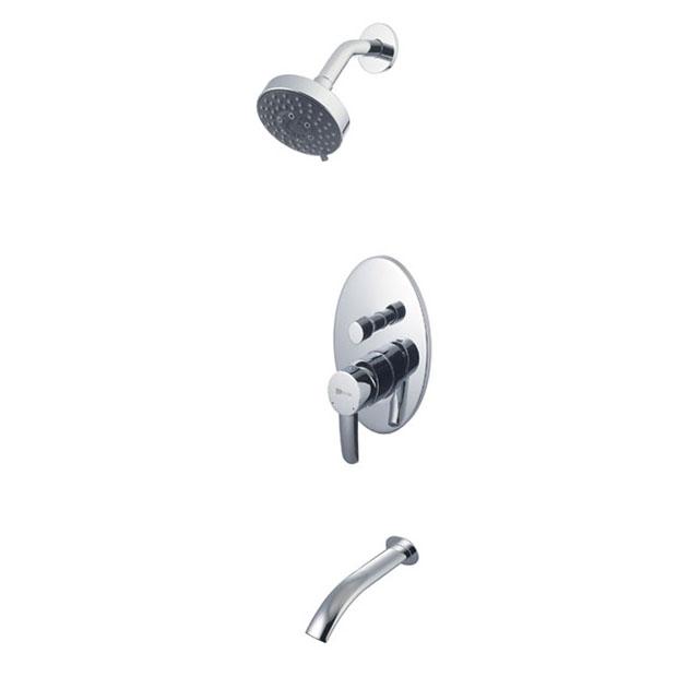 Душевой набор Lemark Comfort LM3221C lemark смеситель для ванны и душа lemark yeti lm7862c с регулируемой высотой штанги однорычажный хром на 2 отверстия zs2s7st