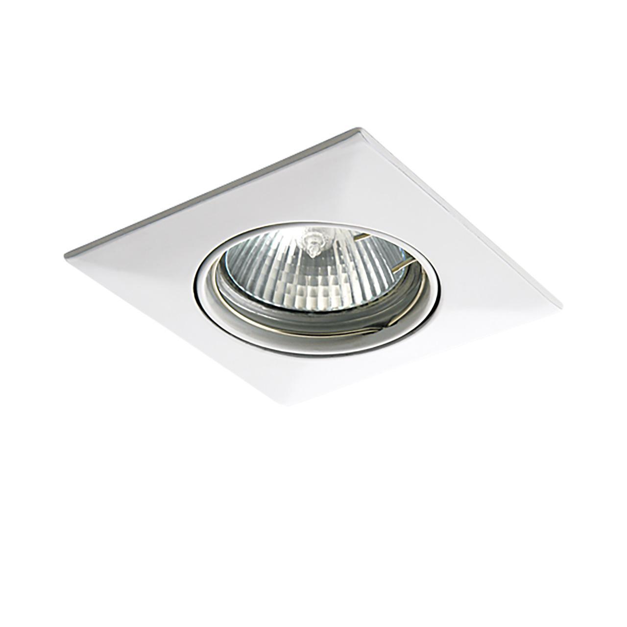 Встраиваемый светильник Lightstar Lega 011030 lightstar встраиваемый светильник lightstar lega qua adj 011030