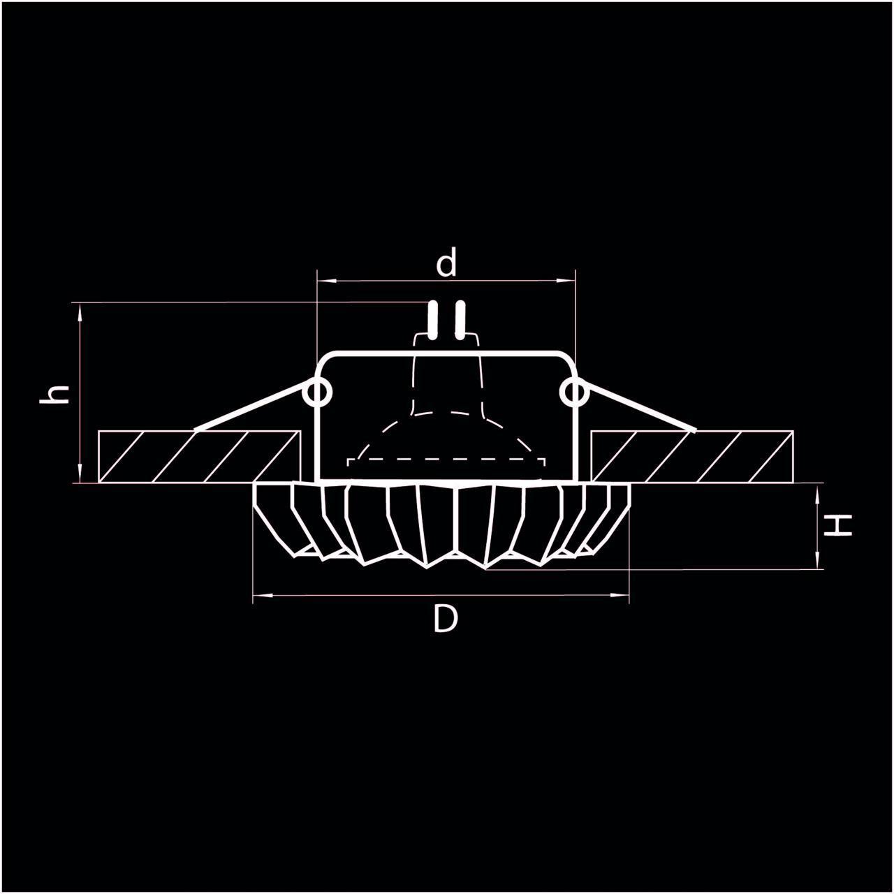 Встраиваемый светильник Lightstar Solo Ray 002120 встраиваемый светильник lightstar solo 002050