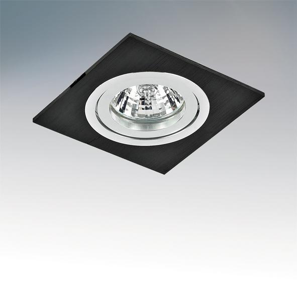 Встраиваемый светильник Lightstar Banale Weng Qua 011007 встраиваемый светильник lightstar artico qua 070244