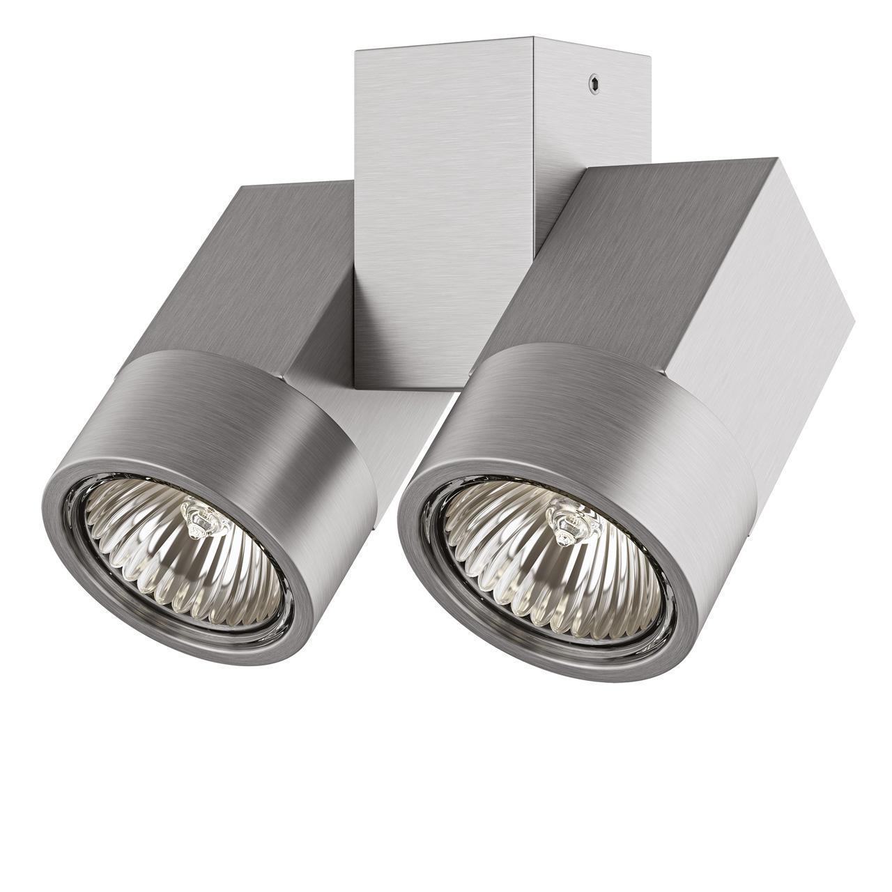 Потолочный светильник Lightstar Illumo X2 Alu 051039 блузка golub б1155 3033 2548