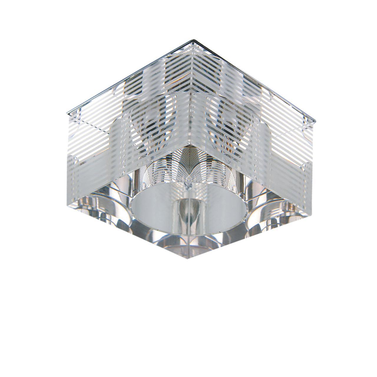 Встраиваемый светильник Lightstar Qube 004055 встраиваемый светильник lightstar qube 004050