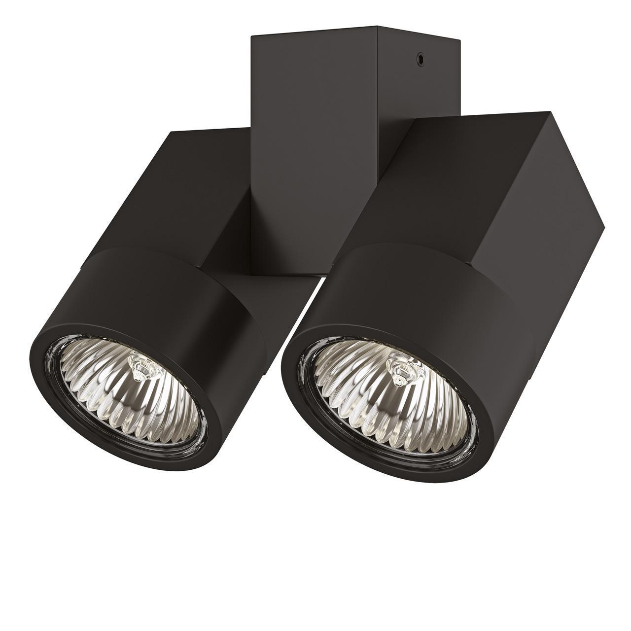 Потолочный светильник Lightstar Illumo X2 Nero 051037