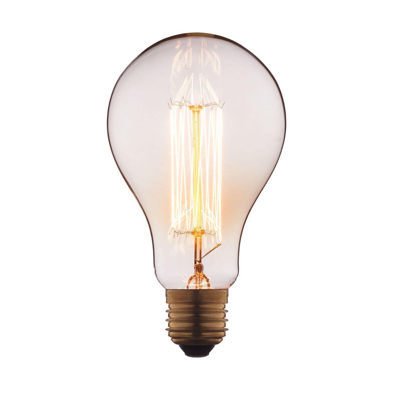 Лампа накаливания E27 60W прозрачная 9560-SC цена и фото