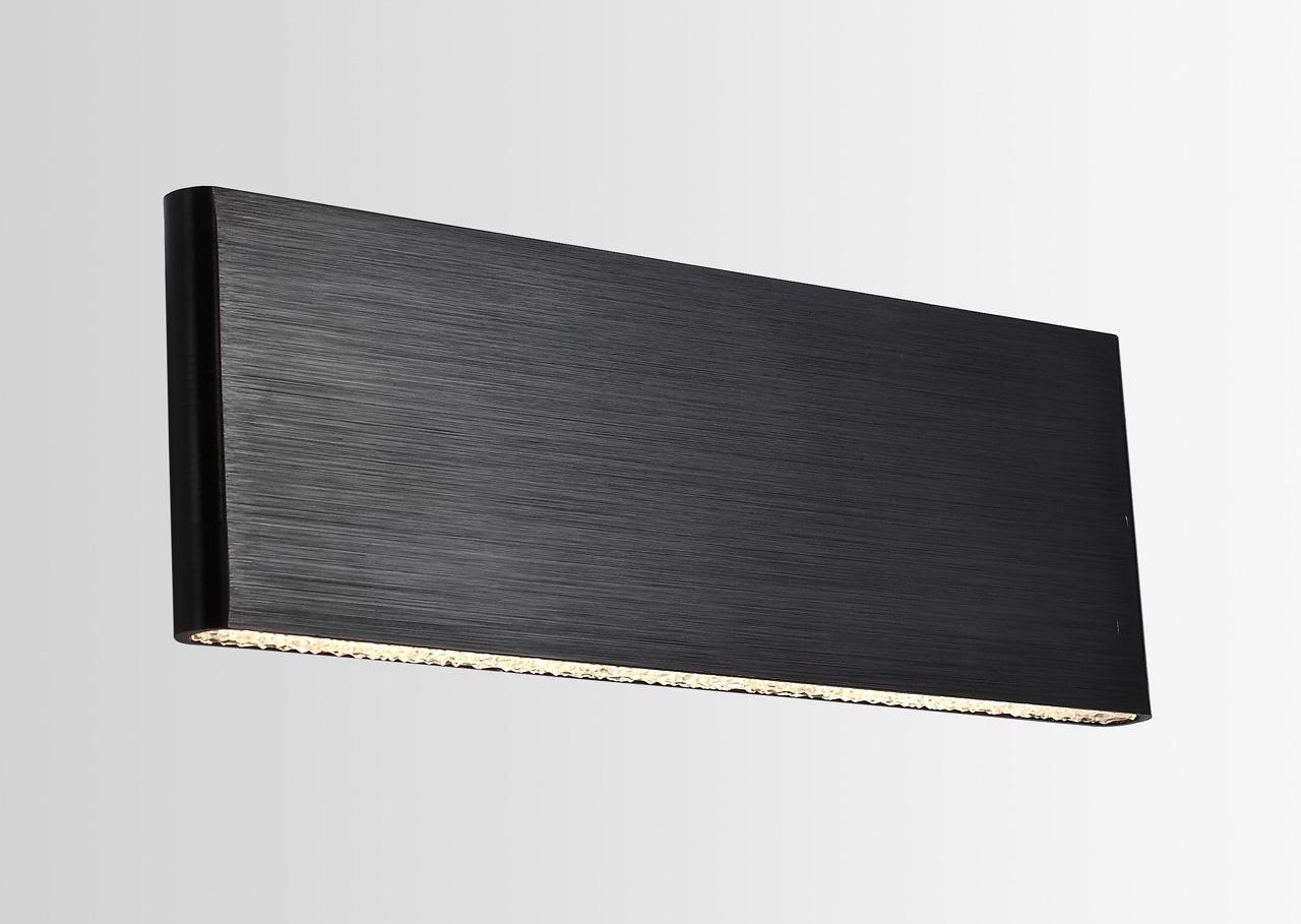 купить Настенный светильник Lucia Tucci Aero W205 Nero LED по цене 8499 рублей