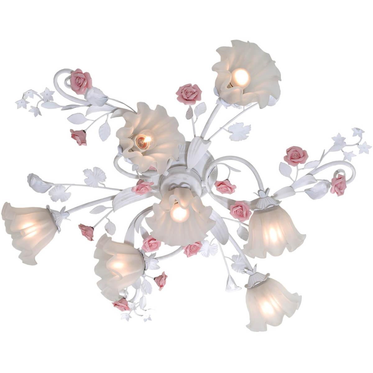 Люстра Lucia Tucci Fiori Di Rose 109.6.1 потолочная