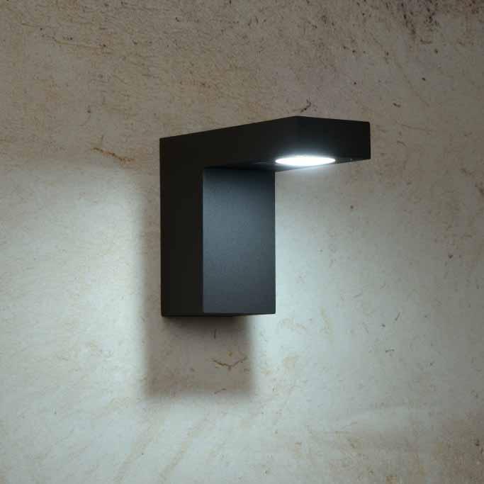 Уличный настенный светодиодный светильник Lucide Texas 28850/23/30 lucide уличный светильник lucide texas 28851 60 30