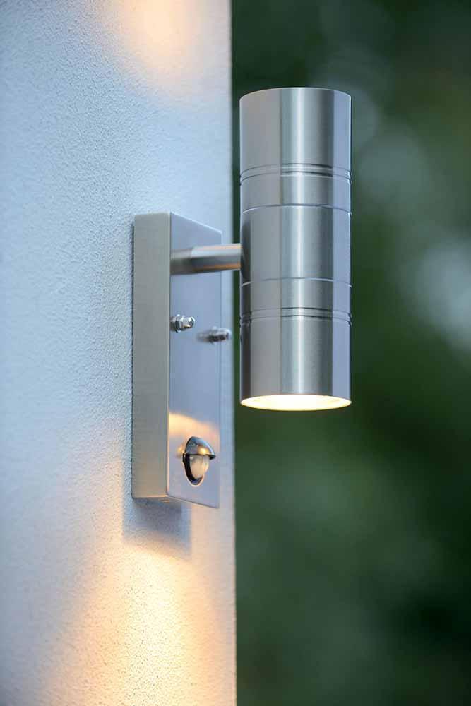 Уличный настенный светодиодный светильник Lucide Arne-Led 14866/10/12 уличный настенный светильник lucide arne арт 14866 21 30