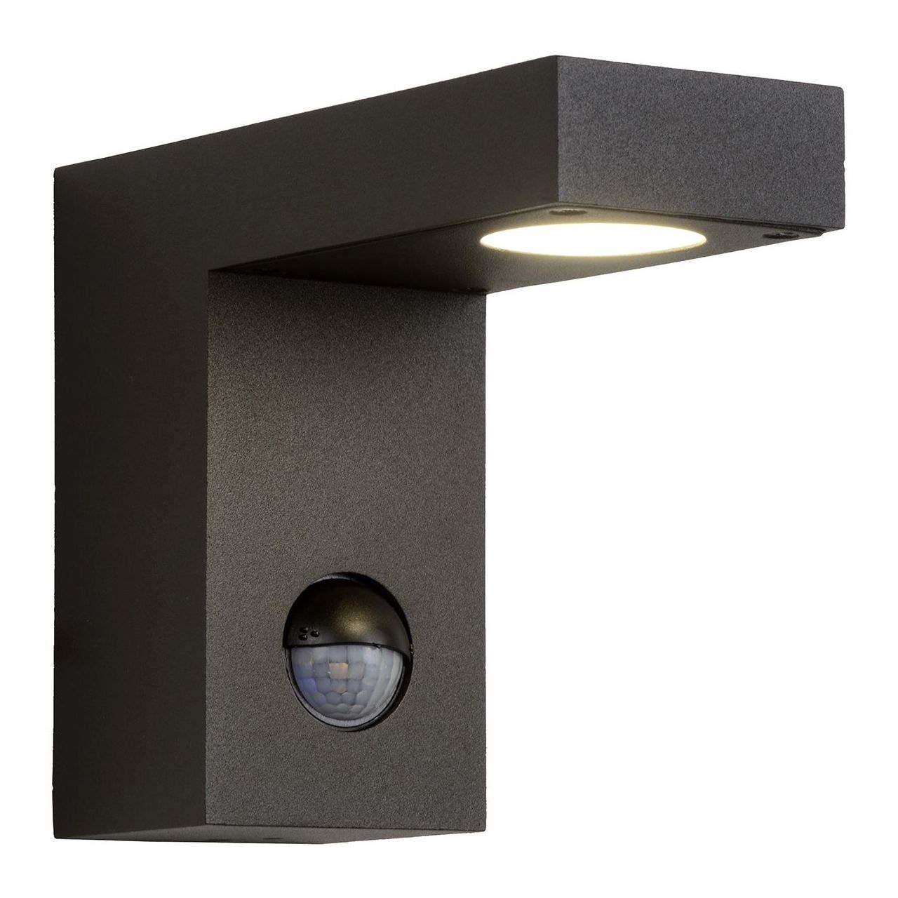 Уличный настенный светодиодный светильник Lucide Texas 28850/24/30 lucide уличный светильник lucide texas 28851 60 30