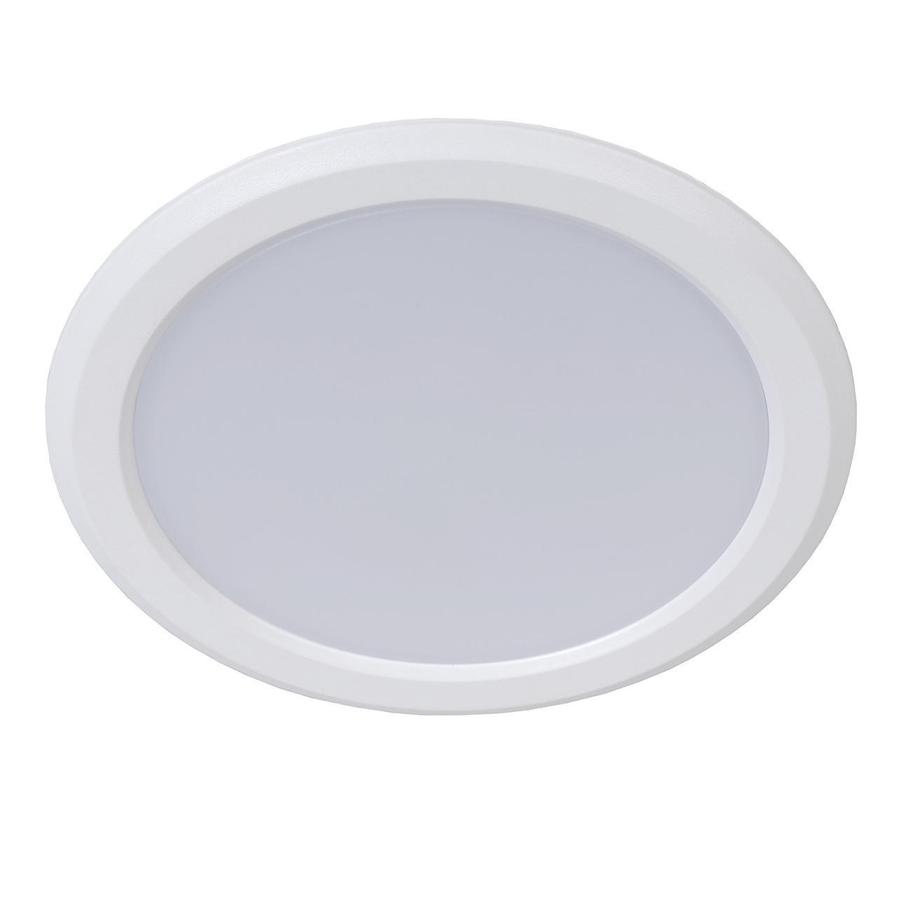 Встраиваемый светодиодный светильник Lucide Tendo-Led 07902/09/99 lucide встраиваемый светильник lucide tendo led 07901 06 31