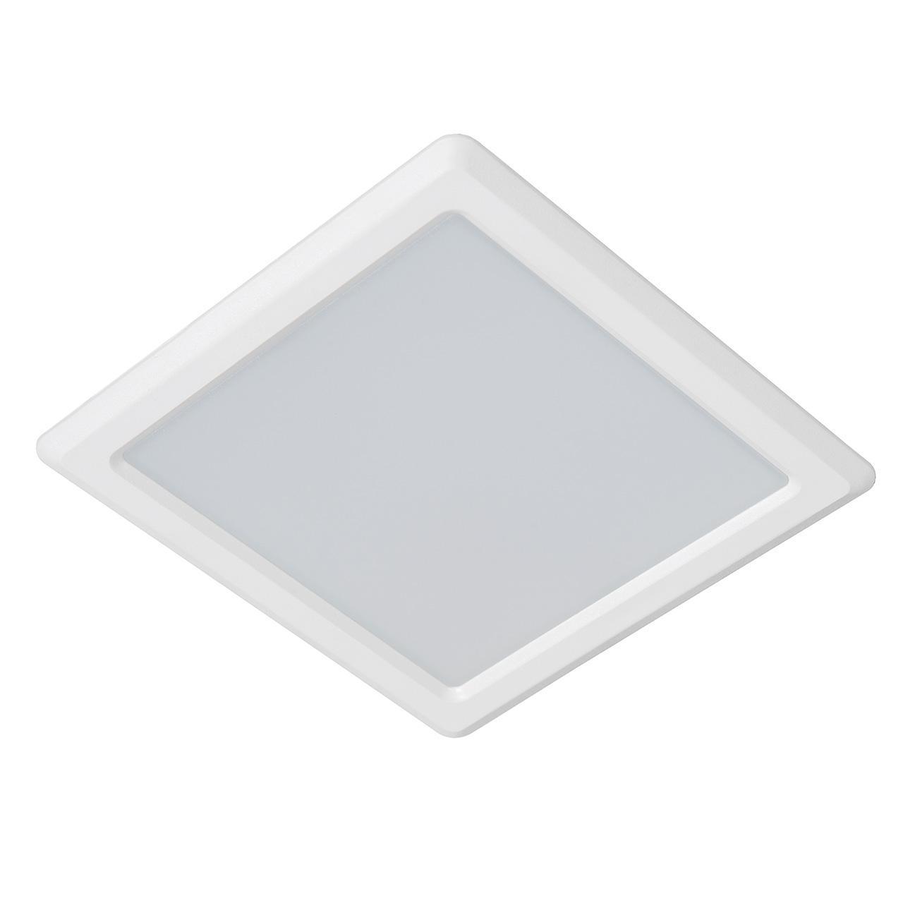 Встраиваемый светодиодный светильник Lucide Tendo-Led 07903/09/99 lucide встраиваемый светильник lucide tendo led 07901 06 31