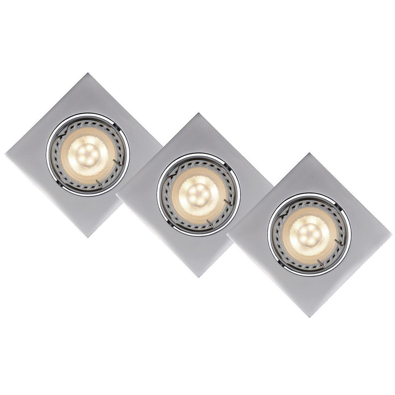 Встраиваемый светильник Lucide Focus 11002/15/36 lucide встраиваемый светильник lucide ben 17958 11 36