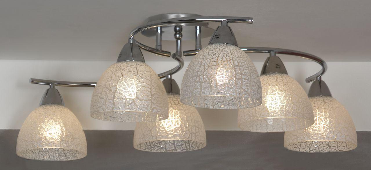 Люстра Lussole Zungoli LSF-1603-06 потолочная цена