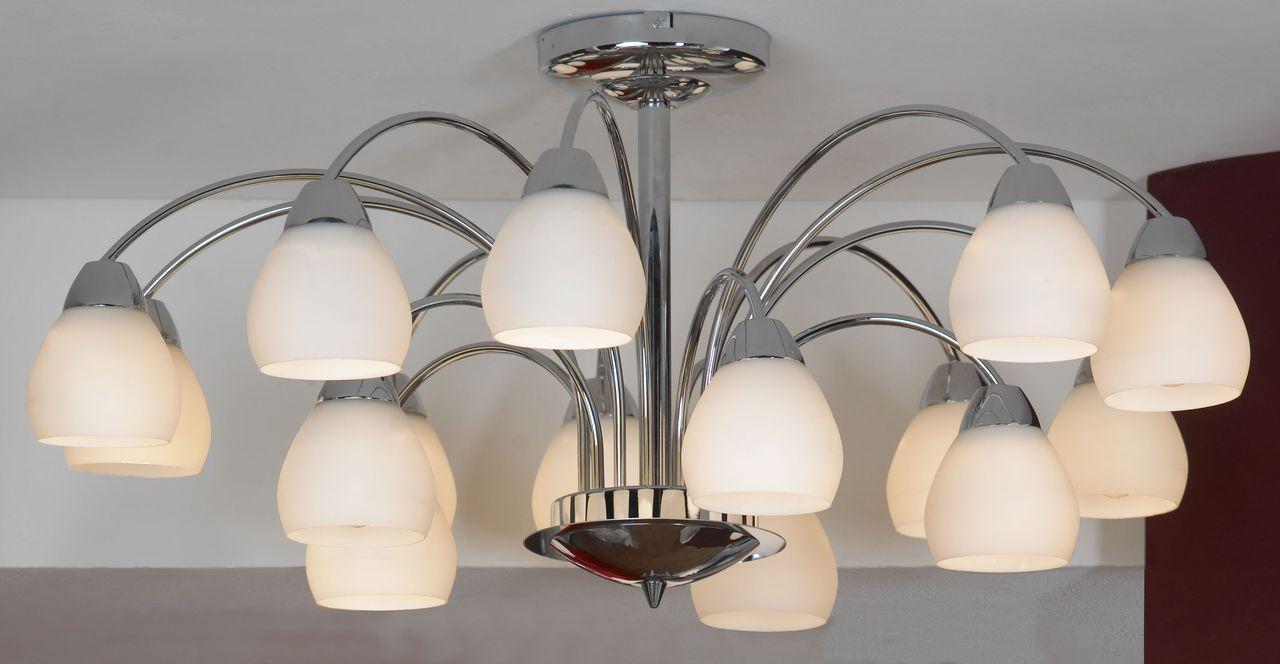 Люстра Lussole Apiro LSF-2403-15 потолочная цена