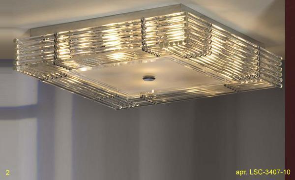 Потолочный светильник Lussole Popoli LSC-3407-10 цена